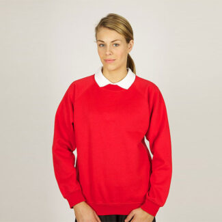 Girls Red Sweatshirt