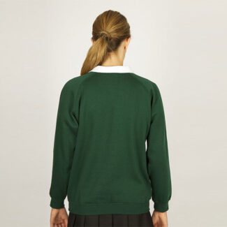 Girls Bottle Green Sweatshirt