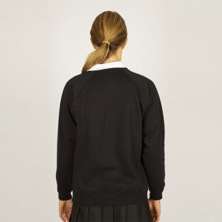 Girls Black Sweatshirt