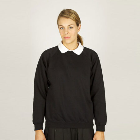Girls Black Sweatshirt