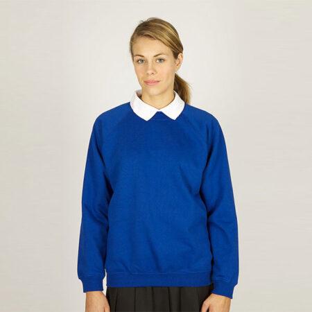Girls Royal Sweatshirt